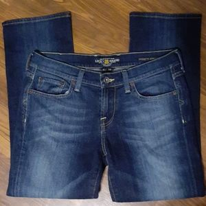 Lucky Brand 6/28 'Sweet n' Straight' chop jeans